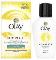 Olay Complete Lightweight Day Fluid Moisturiser Sensitive Skin Spf15